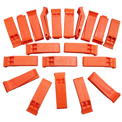 Coaches' & Referees' Gear SE WH36 Survivor Series Orange Floating Whistles Accessories 36-Pack
