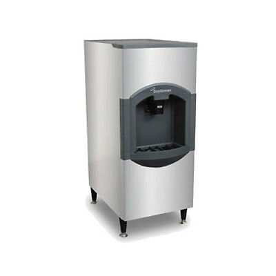 Scotsman Hd30b-6 180 Storage Capacity Floor Model Hotel Ice Dispenser