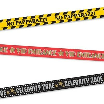 Party Barricade Tape - Jokes, Halloween, Party, Dress-Up - 3 Tapes To Choose!