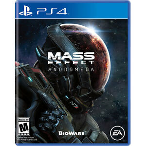 Mass Effect Andromeda - PS4 - New / Sealed