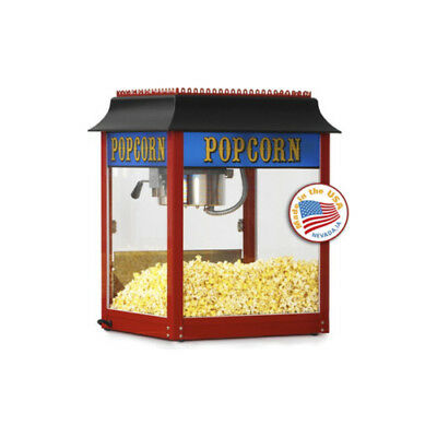 Paragon 1911 4 Oz. Popcorn Machine Domestic Red Theater Style Concession 1104110