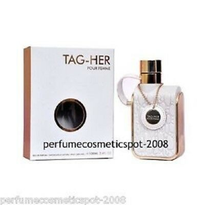 NIB TAG-HER POUR FEMME ARMAF PERFUME FOR WOMEN 3.4 OZ 100 ML EAU DE PARFUM SPRAY