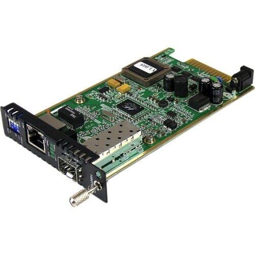 StarTech ET91000SFP2C StarTech.com Gigabit Ethernet Fiber Media Converter Card