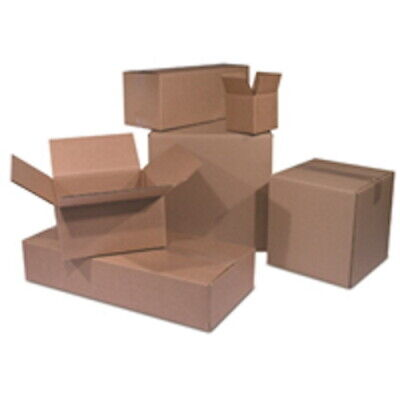 25 50 75 100 - 10x10x10 Inch Cube Packing And Shipping Boxes Kraft Cardboard