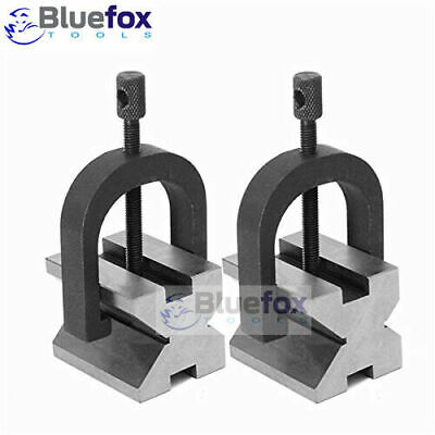 Precision Engineers Vee Blocks Clamp Set - V Block Matched Pair 1-58 X 1-14
