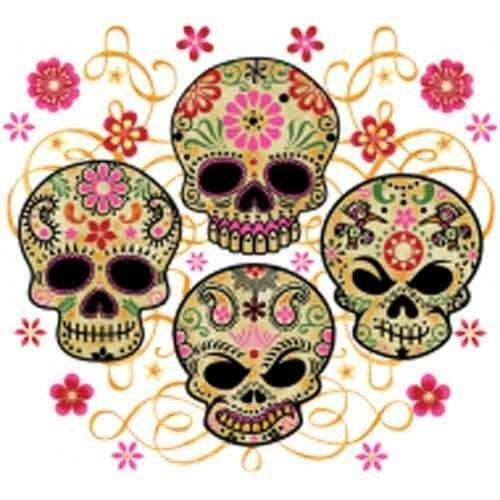 Mexican Rug History: Mexican Skull