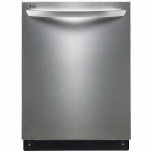 "LG LDF7551ST 24"" FULLY INTEGRATED DISHWASHER WITH FLEXIBLE EASYRACK™ PLUS SYSTEM"