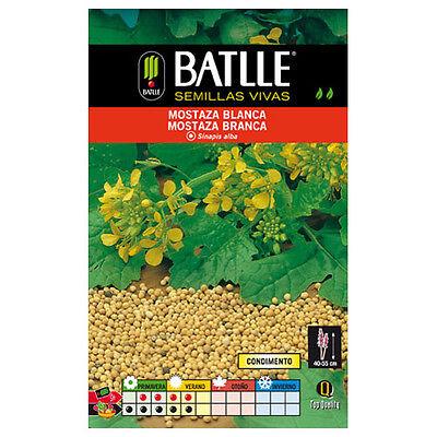 Semi aromatici di Batlle - Senape Bianca (10g)