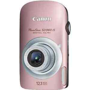 Canon PowerShot 12.1 MP Digital Elph Camera