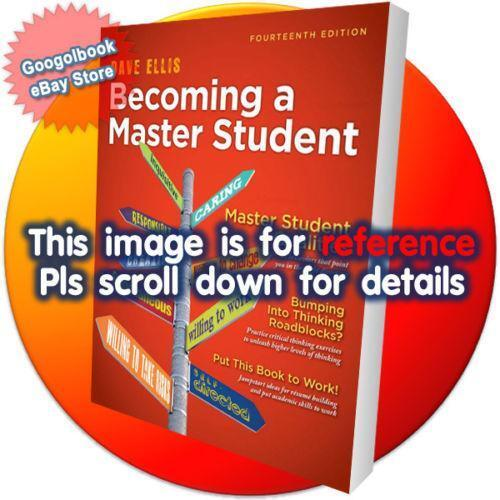 Becoming a master student books ebay fandeluxe Gallery