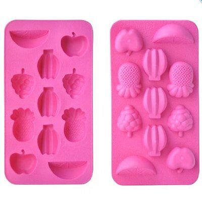 Tropical Fruit Pineapple Banana Ice Tray Candy Mold Bar Drink Shape Maker - Banana Shaped Candy