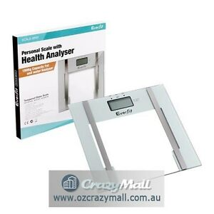 Bathroom White Digital Electronic Body Fat Weight Scale Melbourne CBD Melbourne City Preview