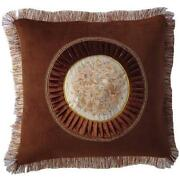 Throw Pillows Red Brown