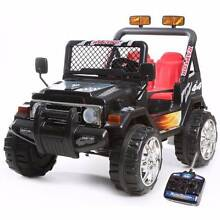 New version 12V Jeep 2 Seater Kids Ride On Cars,leather Seats,R/C Greenacre Bankstown Area Preview