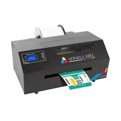 Afinia Label L502 Industrial Duo Ink Color Inkjet Label Printer Available July
