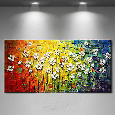 beautiful Large canvas no frame Modern Abstract Art Oil Painting