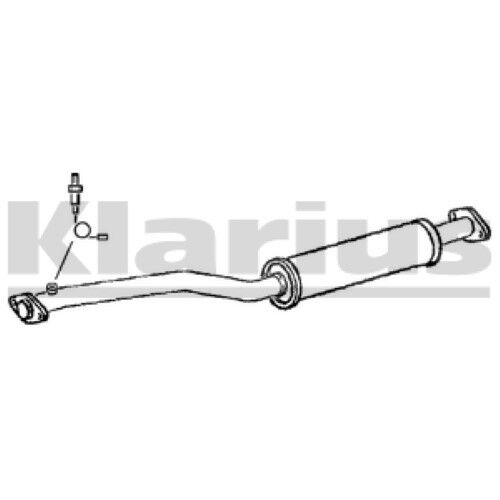 1x KLARIUS OE Quality Replacement Middle Silencer Exhaust For LEXUS Petrol
