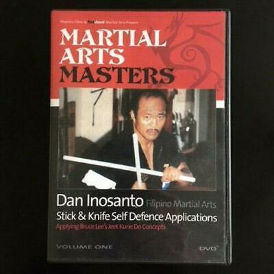 Dan Inosanto JKD Masters Stick and Knife Applications Jeet Kune Do