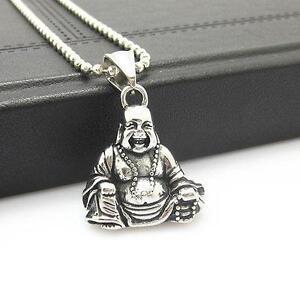 Buddha necklace ebay mens buddha necklace aloadofball Image collections