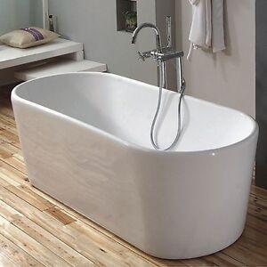 Brand new modern freestanding bath tub 1500mm one piece for Builders bathroom warehouse