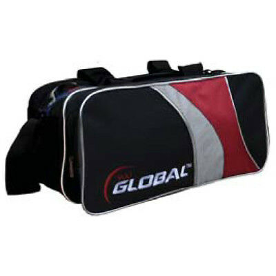 900 Global Bowling Double Tote w/shoes 2-Ball Bowling Ball Bag - Free Shipping! for sale  Overland Park