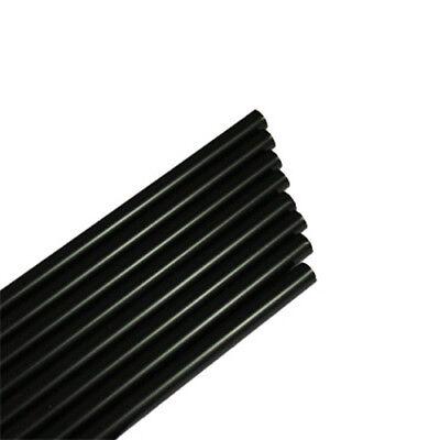 200 Jumbo - Trinkhalme Strohhalme Ø8x250mm, Schwarz