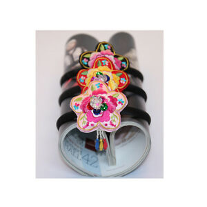 Korean-traditional-clothes-HANBOK-Hairband-daenggi-pigtail-dress-Baby-girl-kids
