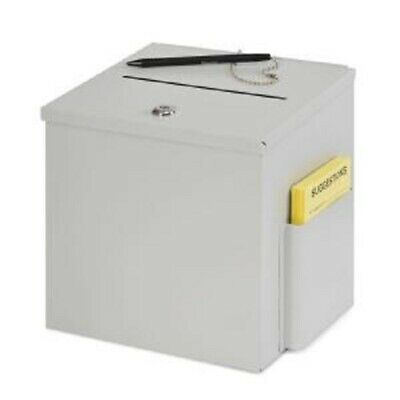 Buddy Products Steel Suggestion Box 5620-32 Lockable