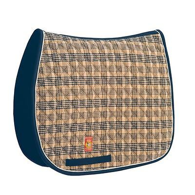 Lettia Traditional Baker Plaid Collection All Purpose English Saddle Pad All Purpose English Saddle Pad