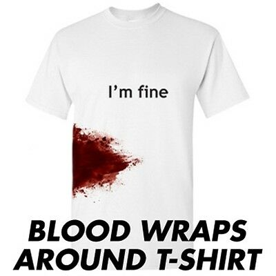 I'm Fine Sarcastic Zombie Adult Humor Gift Idea Graphic Funny Novelty T Shirts](Funny Zombie Ideas)