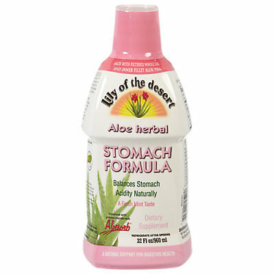 Lily Of The Desert Aloe Herbal Stomach Formula with Whole Leaf & Inner Fillet... Desert Whole Leaf Aloe