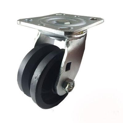 4 X 2 V-groove Caster - Swivel