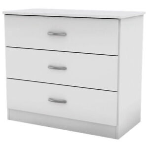 New South Shore Libra 3-Drawer Chest - Pure White