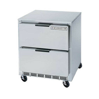 Beverage Air Ucrd27ahc-2 27 Undercounter Reach-in Refrigerator W Drawers