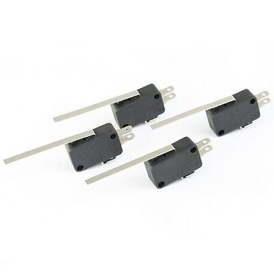 Microswitches Ac250v Ac 125v Micro Switches 15a Long Lever 4pcs