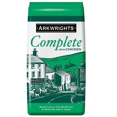 Arkwrights Complete Dry Dog Food Chicken 15KG (VAT Free)