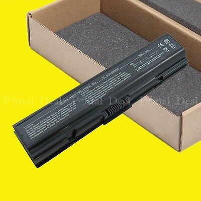 9 Cell Battery For Toshiba Satellite A205-s5000 L305-s587...