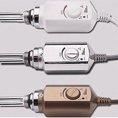 eléctrico Patrón CALOR varilla para radiadores Toallero 900w blanco