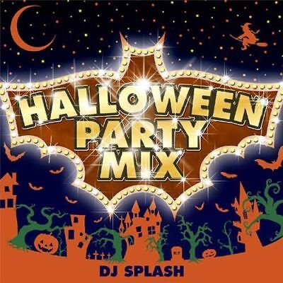 DJ SPLASH-HALLOWEEN PARTY MIX-JAPAN CD B63 - Halloween Disco Music Mix