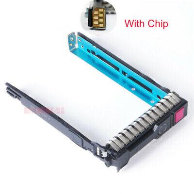 "New  2.5"" SFF SAS SATA HDD Tray Caddy  651687-001 For HP G8 G9 Gen9 DL560 653955"