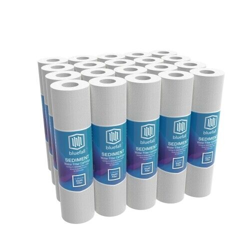 20 PACK 5 Micron Sediment Water Filters For Reverse Osmosis 10 in. x 2.5 in.