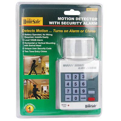 Motion Sensor Detector PIR Alarm Wireless Home Security System Infrared Alert