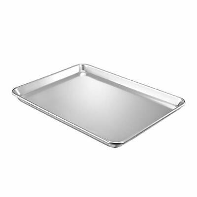 QuCrow Nonstick Baking Sheet Pan, Aluminum Cookie Sheet, Bakers Half Sheet Pan,