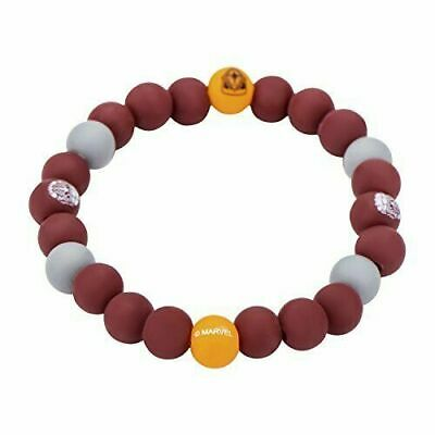 Marvel Guardian of the Galaxy Logo Silicone Beads Stretch Bracelet New Gift Kids