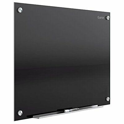 Quartet Glass Whiteboard Magnetic Dry Erase White Board 3 X 2 Black Surface...