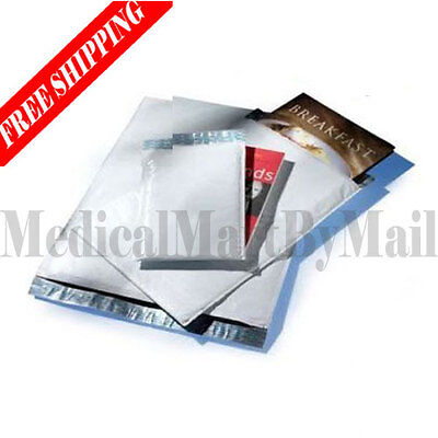 100 1 Poly Bubble Mailer Padded Envelopes Bags 7.25 X 12 Self Seal