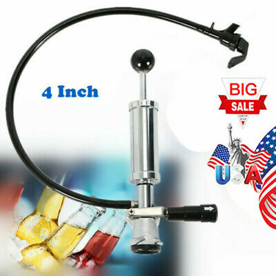 Heavy Duty Draft Beer Keg Tap Party Chrome Plated Metal Pump 4 Inch Usa Ship New