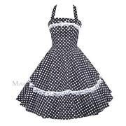 White Rockabilly Dress