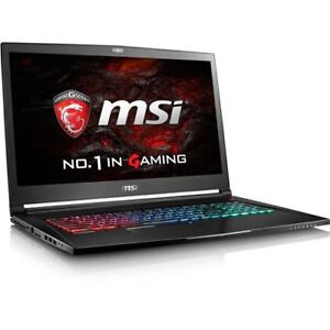"Msi Gs73vr 7rf-225US Stealth 17.3"" Gaming Notebook Pc"