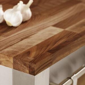 solid wood european walnut kitchen worktops and breakfast. Black Bedroom Furniture Sets. Home Design Ideas